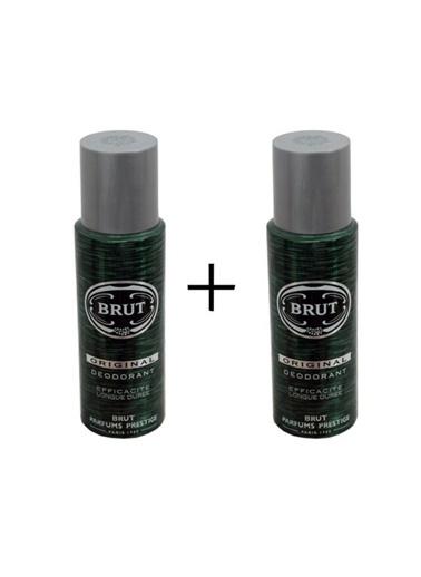 Brut Brut Original Deodorant 2 Li 2X200 Ml Renksiz